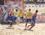 Портовик - Будивельник. Финальный матч Чемпионата Украины по пляжному гандболу