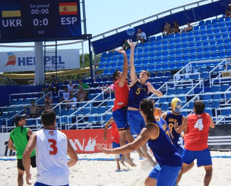 Чемпионат Европы 2011 г. Умаг (Хорватия). Матч с участием национальной сборной Украины