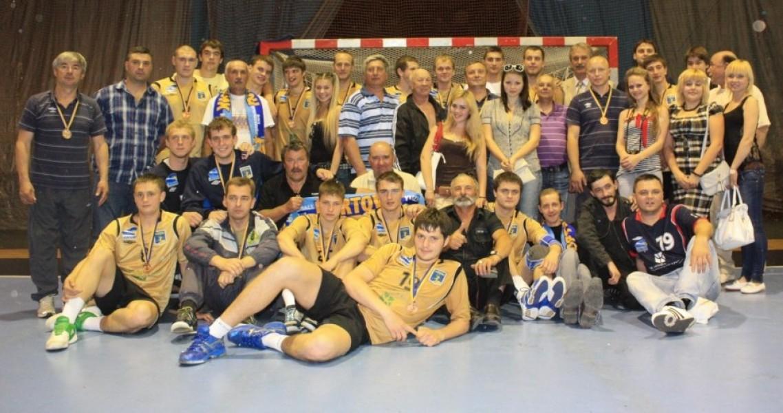 Бронзовый призер сезона 2010-2011гг. ГК