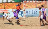 Портовик-2 - Закарпатская область. Финал чемпионата Украины по пляжному гандболу (г. Ильичевск)