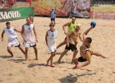 Портовик-1 - Закарпатская область. Финал Чемпионата Украины по пляжному гандболу (г. Ильичевск)