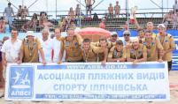 Портовик-1 - чемпион Украины по пляжному гандболу