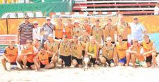 Портовик-1 и Портовик-2 -  золотой и серебряный призеры чемпионата Украины по пляжному гандболу