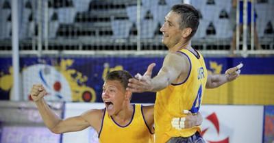 V Чемпионат Мира по пляжному гандболу. Сбоная Украины - серебряный призер