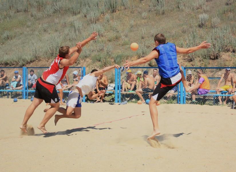 Пляжный гандбол. Чемпионат Украины - финал.