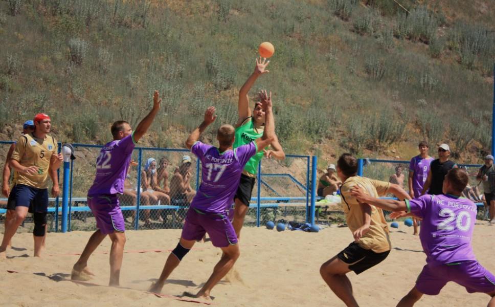 Пляжный гандбол. Чемпионат Украины - финал