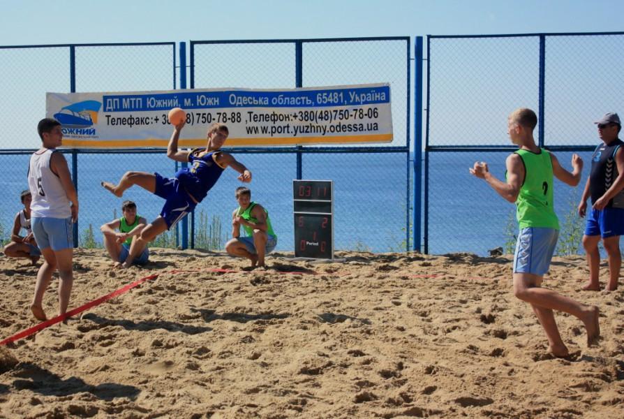 Пляжный гандбол. Кубок Украины.